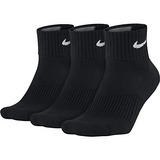 Nike Performance Cushion Quarter Training Socks (3