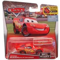 Rayo Mcqueen C/acc. Disney Pixar Cars De Mattel- Minijuegos