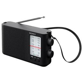 Radio Sony Icf-19 Bandas Am/fm A Pilha - Preto