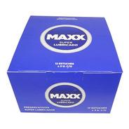 Preservativos Maxx Super Lubricado 12 Cajitas X 3