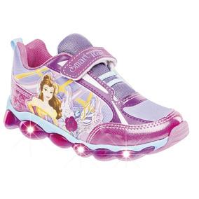Tenis Con Imaginación Para Niña Princesas 69850 Con Luces