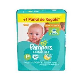 Pañales Pampers Confort Sec Pod (m10u)