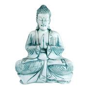 Buda Verde/branco | 29 Lar X 39 Alt X 12 Prof