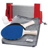 Juego Raquetas Red Ping Pong Franklin Portátil