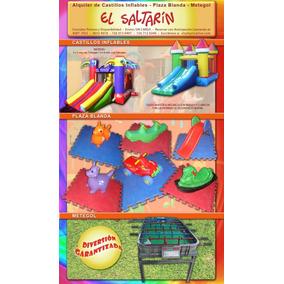 Castillos,plazas Blandas,metegol,tejo En Alquiler,mataderos