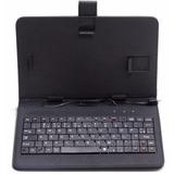 Capa Case Com Teclado Micro Usb V8 Tablet 7