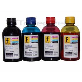 4x250ml De Tinta Corante Formulabs P/ Impressora Epson T24