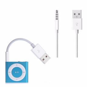 Cabo De Dados Usb P2 Ipod Apple Shuffle Branco - 7cm