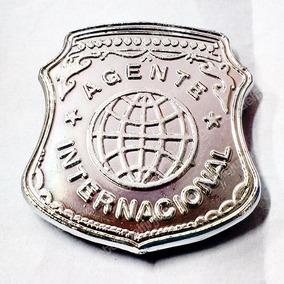 Placa Agente Internacional Juguete Sheriff Policía