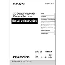 Manual Em Português Sony Hxr-nx3d1n / Nx3d1e / Nx3d1p