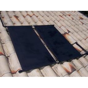 2 Placas Coletor Solar Aquecedor Economia Energia + Manual