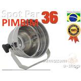 Kit 40un Pinspot Refletor Pimbim Tx Par 36 Polido Mini Bojo