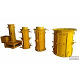 Fôrmas De Tubo Para Fabricar Tubos De Concreto 20.40.60.80cm
