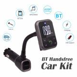 Transmisor Manos Libres, Cargador, Bluetooth, Usb Mp3 Sd
