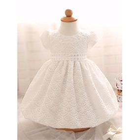 Hermoso Vestido Blanco Princesa Envio Gratis Bautizo Fiesta