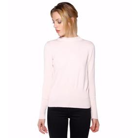 Sarkany Grus - Sweater Mujer Basico Con Cuello Redondo