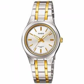 735b97d7b2c Relogio Casio Ltp 1337 Sg 9a Feminino Vidro Mineral G - Relógios no ...