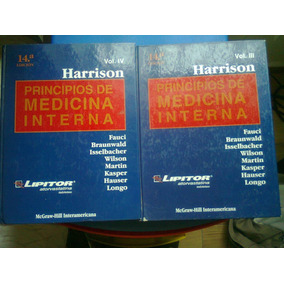 Principios De Medicina Interna Harrison 14a 2 Tomo Iii Y Iv