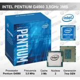 Procesador Intel Pentium G4560 3.5ghz 3mb L3 Lga1151 54w