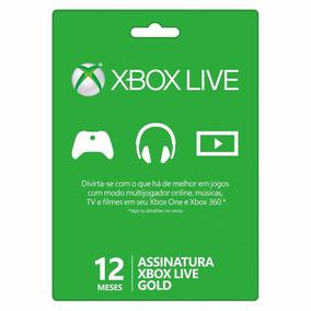 Xbox Live 12 Meses Microsoft