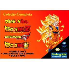 Dragon Ball+dbz+gt+kai+super+filmes E Ovas Série Completa