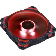 Cooler Fury F4 - Led Vermelho - Pc Yes
