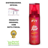 Spray Alisamento Termoativado Liso Fácil 200ml Fit Cosmetics