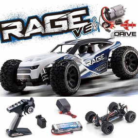 Automodelo Kyosho Rage Ve-i Buggy 1/10 Brushlees 4x4completo