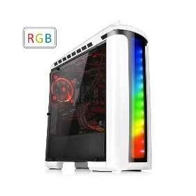 Gabinete Gamer Thermaltake Versa C22 Blanco Rgb Mid Tower