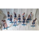 Chiquititas Kit Com 12 Display De Mesa De 15 A 20cm