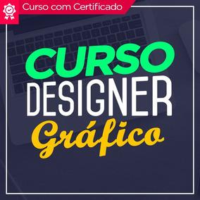 Curso Design Gráfico 2017 C/ Certificado + Brindes Top