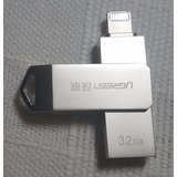 Usb Flash De 32 Gb Para Iphone 7, 7,plus, 6, 5