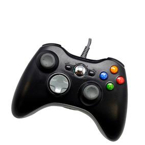 Manete Controle Com Fio Para Xbox 360 Pc Notebook Netbook