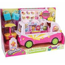 Caminhão De Sorvete Shopkins + Brinde Dtc 3733