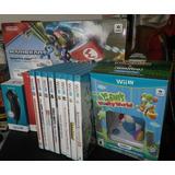 Consola Wiiu Mario Kart 8 Deluxe 32gb Con Controles Y Juegos