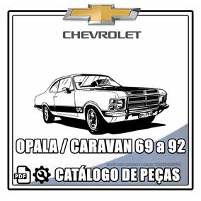 Catálogo De Peças Opala / Caravan 1969-1992 + Brinde