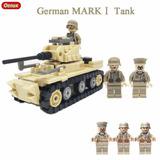 Soldados Tipo Lego Segunda Guerra Mundial Tanque