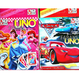 Cartas De Uno Princesas Cars Minnie Juguetes Niño Niña