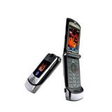 Motorola V3i V3 Razr Libre Nuevo Silver Con 2 Baterias