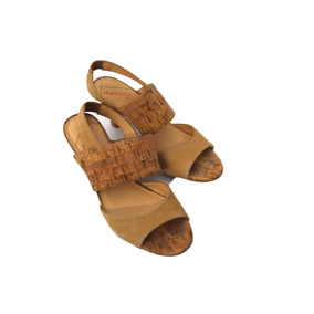 Calçado Tamanco Sapato Feminino 35 Marron Datelli Semi Novo