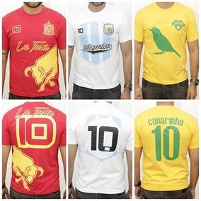 3 Camisas Times Seleções Copa 2018 Frete Grátis c2e133d827244