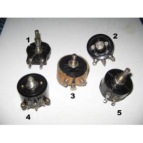 Potenciómetros Reóstatos De Alambre De 4 Watt