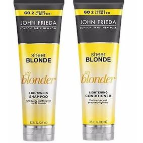 John Frieda Kit Shampoo+ Condi. Sheer Blonde Go Blonder 250m