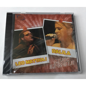 Cd Leo Mattioli/ Dalila Mejor Imposible