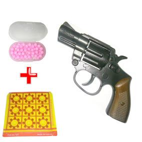 Rifle Pistola Arminha De Brinquedo F/grátis 2 Cartelas