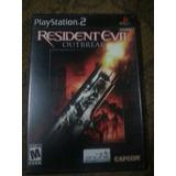 Resident Evil Outbreak Para Ps2