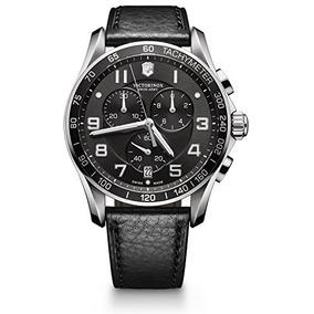 Victorinox Hombres Chrono Classics Xls 45mm Negro Reloj