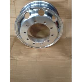 Roda De Alumínio Cromada P/ Caminhão - Aro 22,5 - 10 Furos