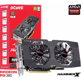 Placa De Video Amd Radeon R9 380 Hammer X Dual-fan Oc 2gb