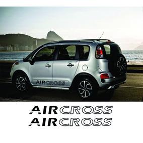 Faixa Lateral Air Cross Cor Preta Modelo 2012 13 14 15 16